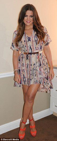Khloe Kardashian- My favorite Kardashian sister!