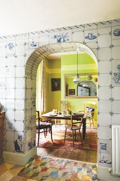 Brighten up autumn with ideas from Kaffe Fassett's riotously colourful Hastings home