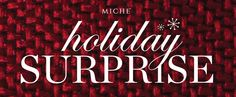Miche Holiday Surprise - Get 2 Free Mystery Shells when you buy a Getting Started Bundle. Click for details. #miche #holidaysurprise