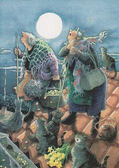 Catwomen met pensioen :)
