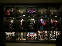 Ikea Bestas and Sideshow Collectibles.