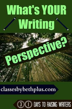 Day 1 What's Your Writing Perspective