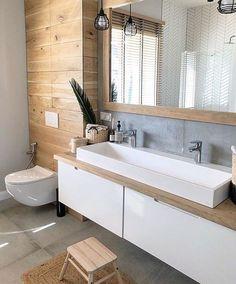Setup New # Setup – Ensuite Bathroom – Setup New # Setup – Privatem Badezimmer – Ensuite Bathrooms, Bathroom Spa, Wood Bathroom, Small Bathroom, Bathroom Ideas, Bathroom Organization, Remodel Bathroom, Budget Bathroom, Bathroom Renovations