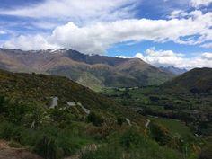 Crown Range Road, Nieuw-Zeeland #newzealand #roadtrip