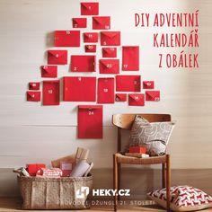 DIY adventní kalendář z obálek