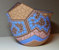 Etsy find: Hand painted, Hand built Pottery Decorative Art by Multeity