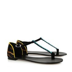 Sandals - Shoes Giuseppe Zanotti Design Women on Giuseppe Zanotti Design Online Store @@Melissa Nation@@ - Spring-Summer collection for men and women. Worldwide delivery. |  E40084 001