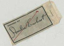 Amelia Earhart's Fashion Label from the 1930s http://www.therecessionista.com/2009/11/amelia-earharts-fashion-line-found-at.html#
