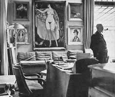 Carel Blazer - Kees van Dongen, Paris, 1936