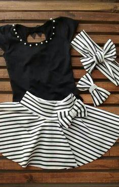 Moda para tú tesorito mas preciado ➡ 👶 Vestiti Per Bambine Piccole beff689e027