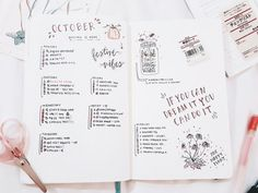 """studywithinspo: """"The evolution of my bullet journal in seven pictures. """""""