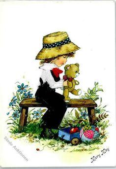 51019855 - May, Mary Kind Teddy Spielzeug in Sammeln & Seltenes, Ansichtskarten, Motive | eBay