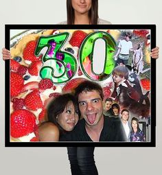 Happy 30th Birthday Gift For 30 Year Old Brother From Younger Sister Photo Collage My