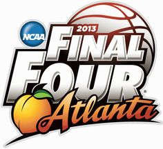 The NCAA and the Atlanta Local Organizing Committee unveiled the logo for the 2013 Final Four today. It will be the anniversary of the Final Four Basketball Teams, College Basketball, Louisville Basketball, Basketball Court, Basketball Leagues, Radios, Kentucky, Ncaa Final Four, Atlanta