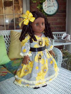 American Girl Doll or 18 inch doll dress pantaloons by ASewSewShop, $16.99