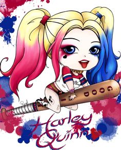 Magical Harley You are in the right place about roblox Coloring Pages Here we offer you the most beautiful pictures about the aesthetic Coloring Pages. Harley Quinn Tattoo, Harley Quinn Drawing, Harley Quinn Comic, Harley Quenn, Joker Cartoon, Chibi, Daddys Lil Monster, Dibujos Cute, Cute Disney