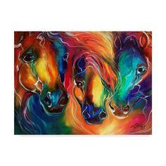 Canvas Art Prints, Framed Art Prints, Canvas Wall Art, Framed Wall, Framed Canvas, Equine Art, Horse Art, Artist Canvas, Painted Horses