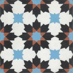 Moroccan Encaustic Cement Pattern Pre Sealed 17a £57.50/sqm