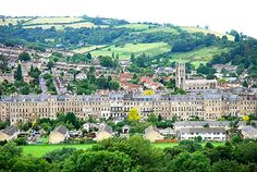 Bath, England. Love this place.  Great memories with my Mom and Dad when they came to England to visit.