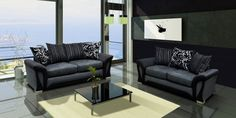 Buy 2, 3 seater sofa sets in Surrey at Sofas & More LTD. These sofa sets are available in high quality Sharon fabric and these are very comfortable.
