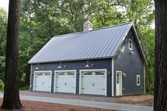 How Much Does It Cost to Build a Detached Garage? - The Complete Guide for 2020 How Much Does It Cost to Build a Detached Garage? - The Complete Guide for Sheds Unlimited Garage Loft, Garage Shed, Barn Garage, Garage Workshop, Garage Storage, Steel Garage, Toy Garage, Garage Doors, Workshop Plans