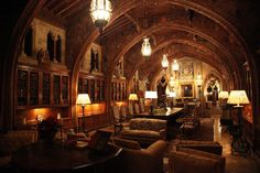 a gentleman's club? or the way to warm up a castle