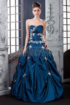 Sweetheart Pick-ups Bodice with Ball Gown Hot Sell Laras Quinceanara Dress