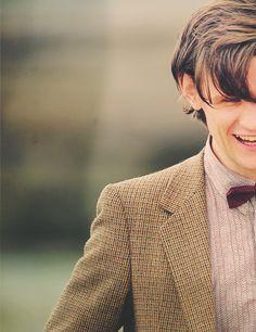 Matt Smith...he sure has grown on me. :)