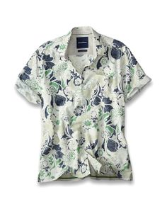 Big & Tall Marlando Bloom Camp Shirt