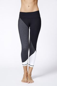 colorblock leggings