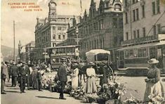 The flower sellers in Adderley Street