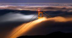 foggy tower 4k ultra hd wallpaper