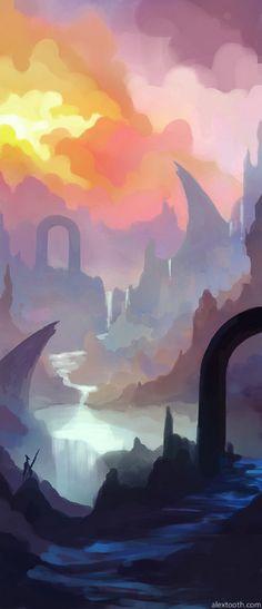 Wonderland by alextooth