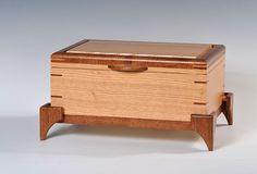 Oak Jewelry Box by WIBN on Etsy, $289.00