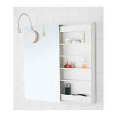 IKEA - BRICKAN, Peilikaappi, , Pääset käsiksi tavaroihisi samalla, kun katsot…