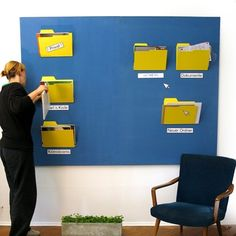 what a great interactive bulletin board idea that incorporates technology too!