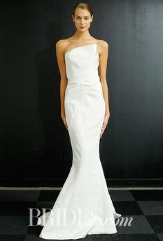Brides.com: J. Mendel - Fall 2016 Wedding dress by J. MendelPhoto: Luca Tombolini / Indigitalimages.com