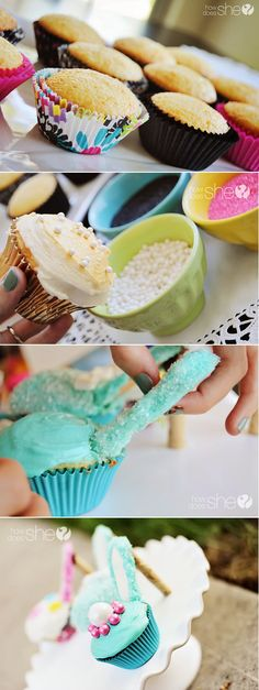 High Heel Cupcake Shoes Recipe By Cupcakepedia, shoes, desserts, cupcakes, food