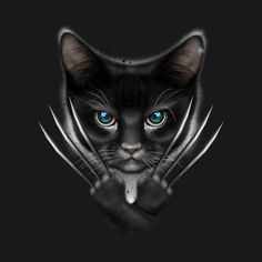 Tips And Tricks For Caring For Cats. Black Panther Art, Black Cat Art, Animals And Pets, Funny Animals, Cute Animals, Cat Paws, Dog Cat, Cat Whisperer, F2 Savannah Cat