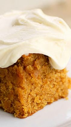 Pumpkin Bars Cake Recipe