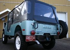 V6: Restored 1971 Jeep CJ6