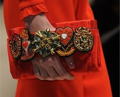 moschino fall 2013 bag with patches