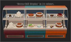 Decra-Chill Display in 24 colors