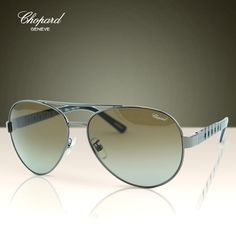 30ebee9ff49 Chopard G.P.M.H. SCH-B12 Men Metal Gunmetal Racing Polarized Aviator  Sunglasses Polarized Aviator Sunglasses
