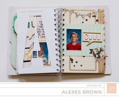 BasicGrey - Mini Album - Carte Postal- replace a for e. Basic Grey, Mini Albums, Creative, Inspiration, Brown, Design, Biblical Inspiration, Brown Colors