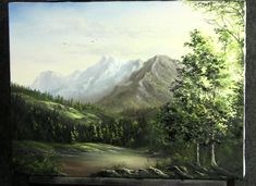 Enjoy watching Kevin create this vast mountain scene. Be inspired to create your own works at home! Go to www.paintwithkevin.com for help!