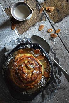 Cinnamon scrolls baked in caramel - yep, the scroll just got better | heneedsfood.com