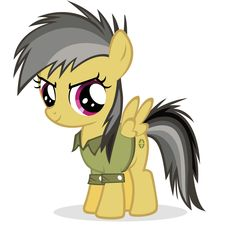 Daring do filly by Nerve-Gas on DeviantArt My Little Pony List, My Little Pony Friendship, American Gothic Parody, Mlp Characters, Bloom Baby, Equestrian Girls, Imagenes My Little Pony, My Little Pony Drawing, Mlp Pony