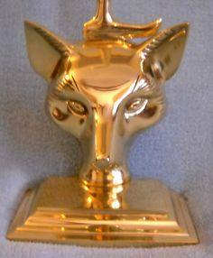 $149 Smooth Fox Mask w/Crop Handle Door Stop Equestrian Decor Foxhunt Equine | eBay