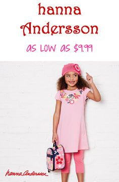 Hanna Andersson Only $9.99 at Zulily